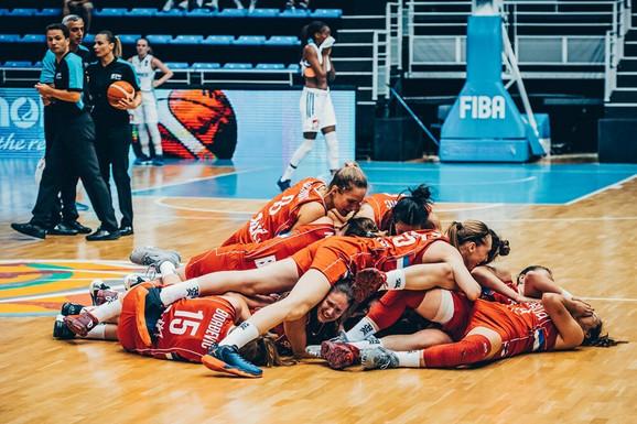 Naše juniorke slave ulazak u finale prvenstva Evrope u mađarskom Šopronu