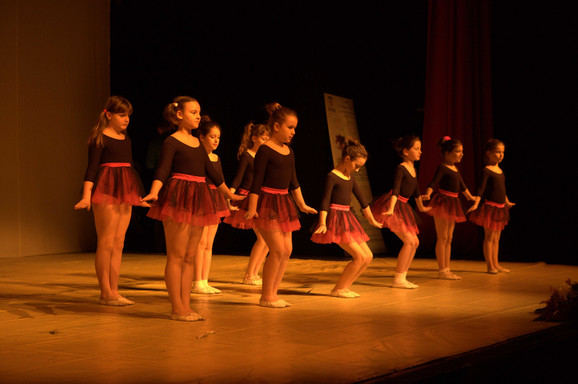 Okupljeni uživali u baletu