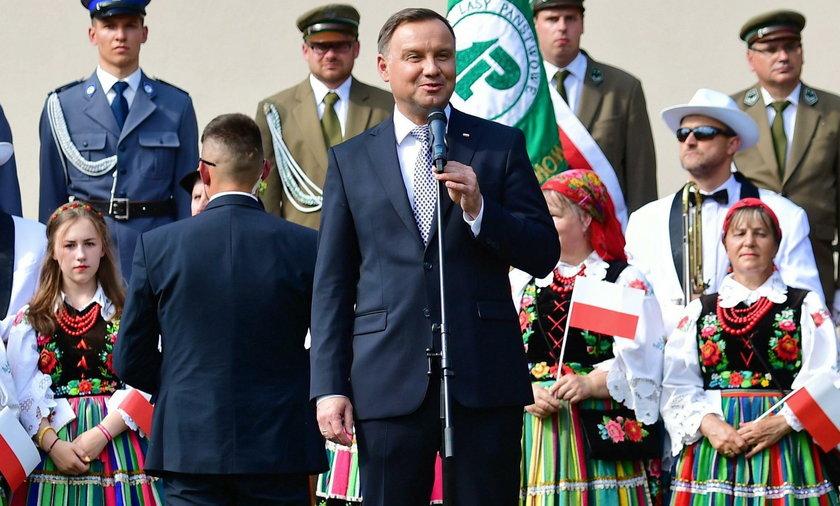 Szczecinek. Komunikacja miejska wystawiła rachunek za wizytę Andrzeja Dudy