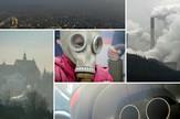 zagađenje vazduha kolaž