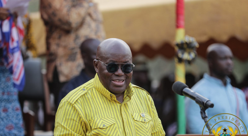 NPP gov't has built 13,800 toilets - Nana Addo touts achievements