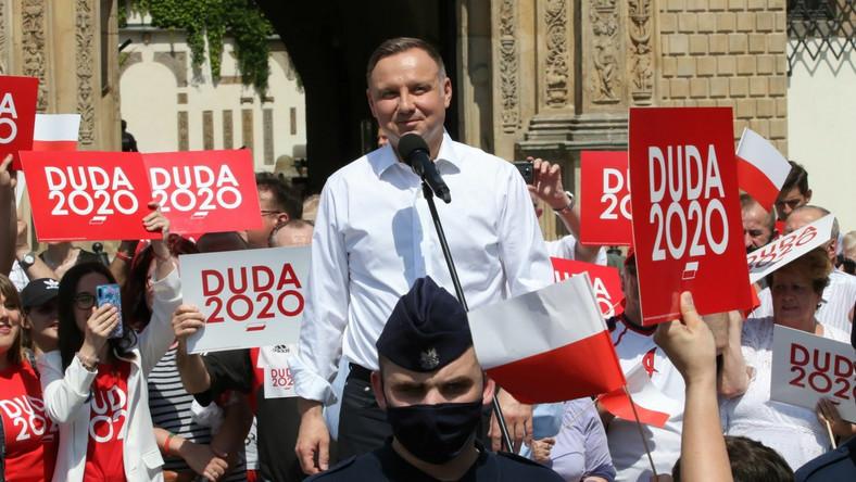 Andrzej Duda w Brzegu