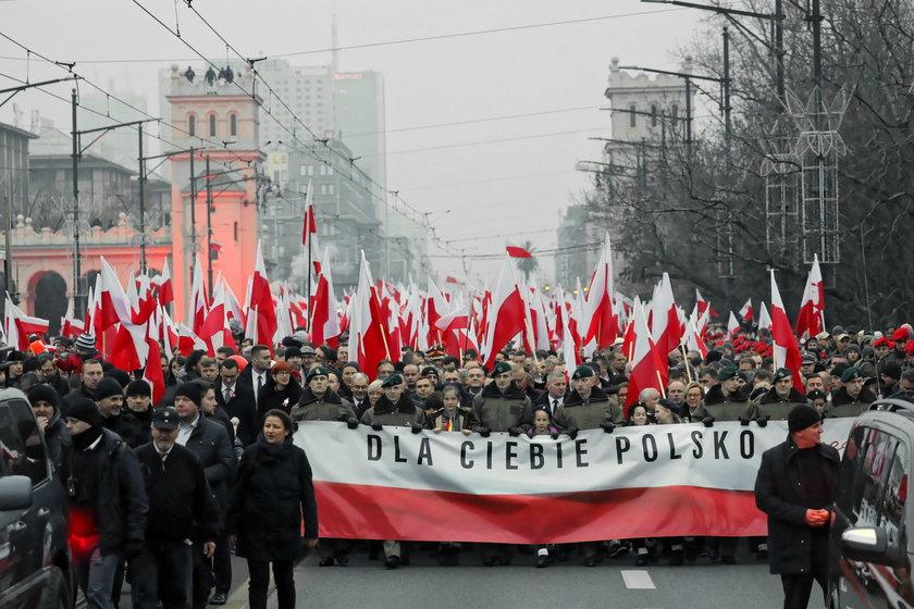 Wzruszające sceny podczas Marszu Niepodległości. Padły tam takie słowa!