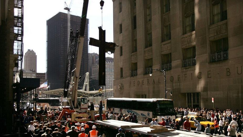 Krzyż z World Trade Center