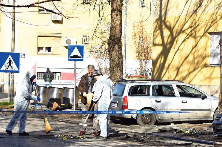 Slobodan Milutinović nakon eksplozije prevezen u bolnicu