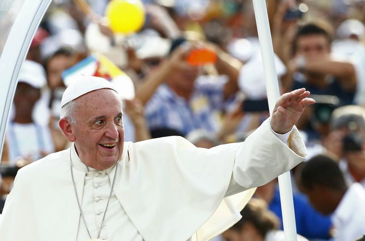 Papa Franja na četvrtom mestu najmoćnijih ljudi
