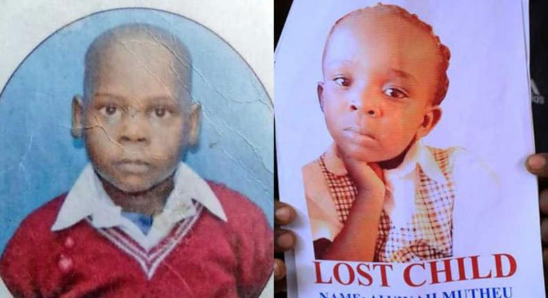 Henry Jacktone (left) and Alvinah Mutheu whose bodies were found in a car at Athi river Police Station