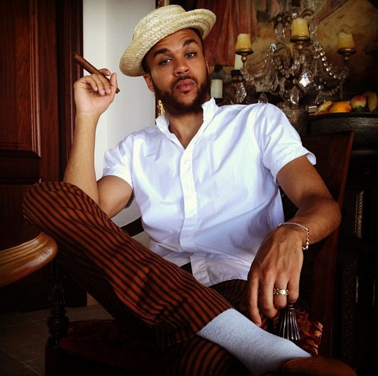 Jidenna became big after the release of his hit single, 'Classic Man'. In the video of the song, the rapper, and producer looked dapper spotting clothes made from African textiles synonymous with Nigeria.