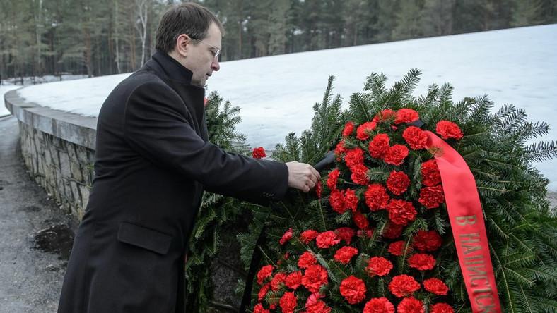 Rosyjski minister kultury Władimir Medinski