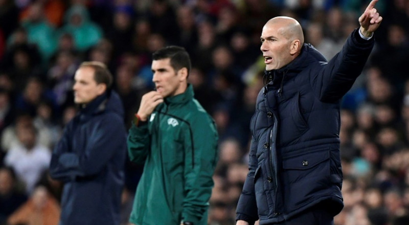 Real Madrid not thinking about Clasico, says Zidane