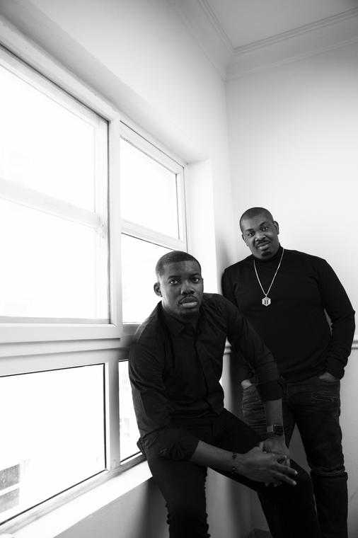 Don Jazzy and Tega Oghenejobo, Chief Operating Officer of Mavin Global. [Mavin]