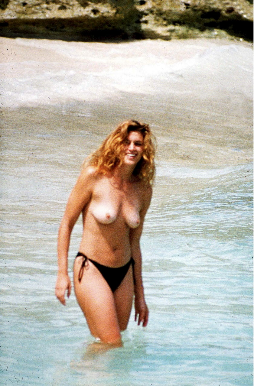 Cindy Crawford bez retuszu