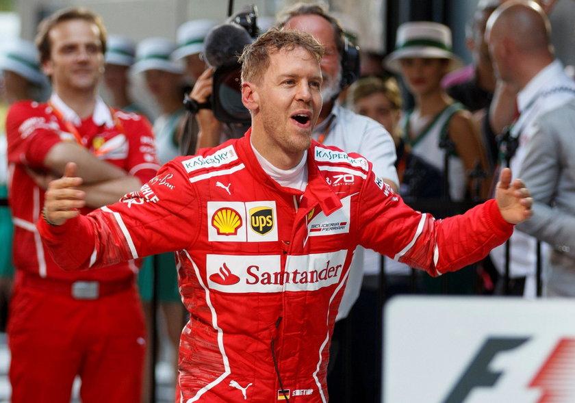 GP Australii: Sebastian Vettel wygrał na start Formuły 1. Było gorąco!