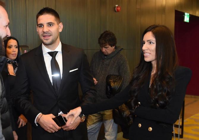 Aleksandar Mitrović sa suprugom