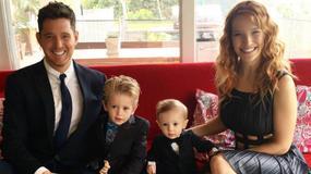 Michael Buble szczęśliwy. Jego syn wygrał walkę z rakiem!