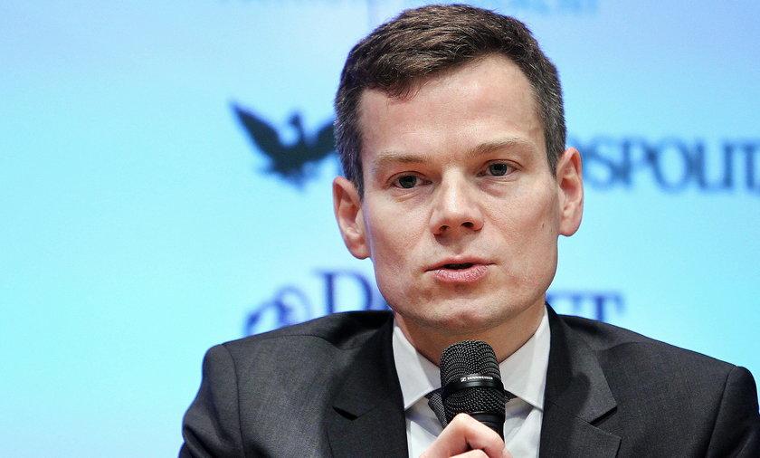 Przewodniczący KNF Jacek Jastrzębski.