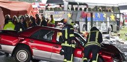 Właściciel auta, które uderzyło w autokar był notowany