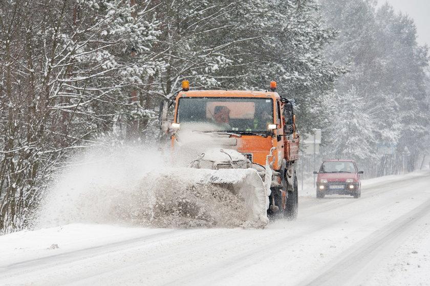Katowice.Śnieżyce i zawieje