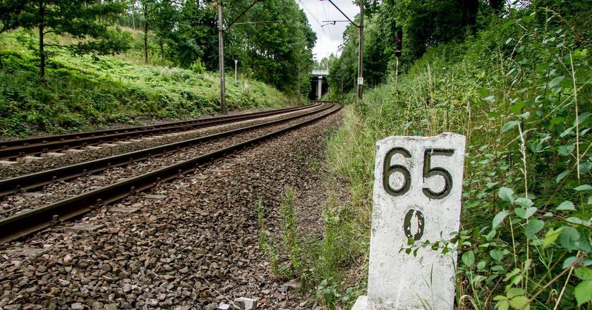 65. kilometr trasy kolejowej między Wrocławiem i Wałbrzychem. To tu ma być ukryty złoty pociąg