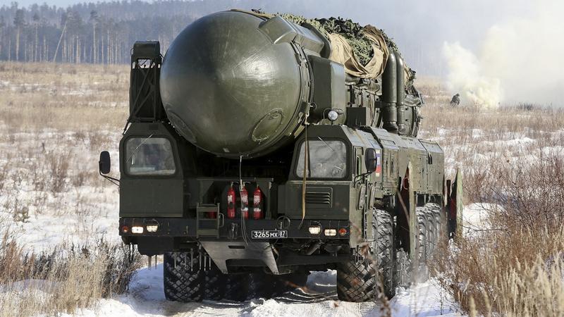 Ćwiczenia polowe irkuckiej jednostki rakietowej