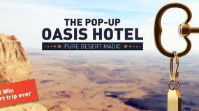 #PopUpOasis – Ministerstwo Turystyki Izraela ogłasza konkurs w mediach społecznościowych