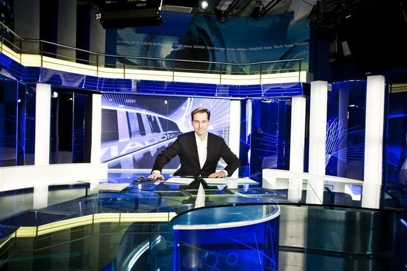 Szef Wiadomości TVP uspokaja pracowników: Nie będę...