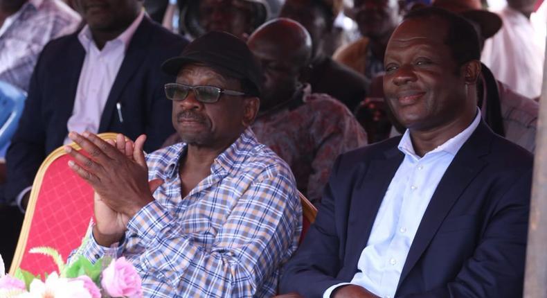 ODM Secretary-General Edwin Sifuna denies claim that Raphael Tuju advises Raila Odinga