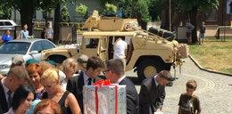 Za mundurem panny sznurem, czyli wojskowy ślub z prawdziwego zdarzenia!