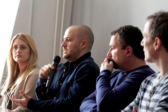 Tamara Krcunović, Nikola Ljuca, Boban Jevtić i Miloš Timotijević