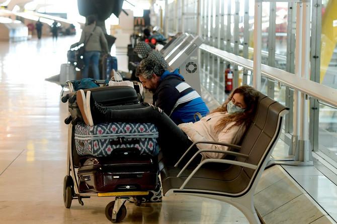 Aerodrom u Madridu pre nekoliko dana