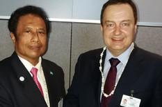 Ivica Dačić, Republika Palau, Tomi Esang Remengeso