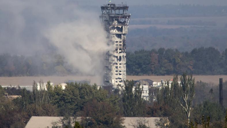 Lotnisko w Doniecku jest ruiną