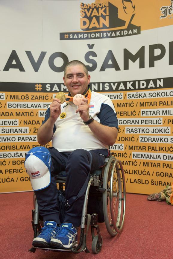 Dvostruki osvajač medalja u Riju, Laslo Šuranji