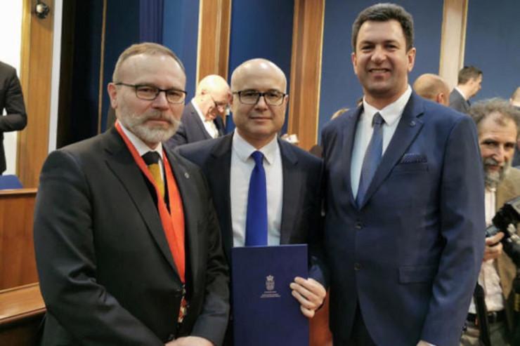 Miloš Vučević, Svetosavska nagrada