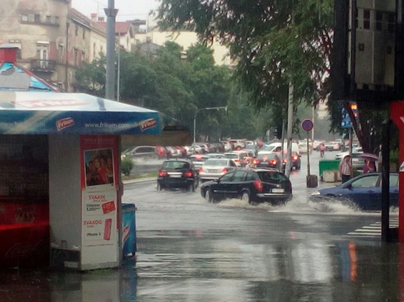 Potopljene ulice