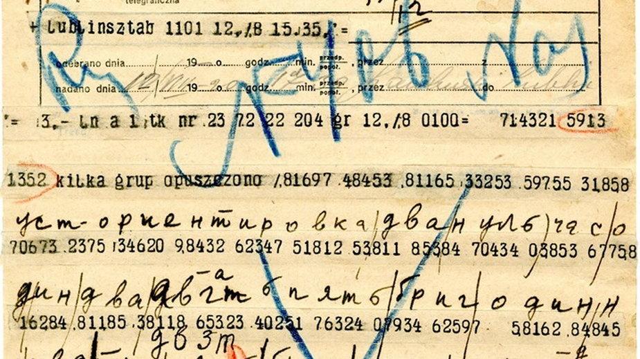 Szyfrogramy Armii Czerwonej przechwycone i odczytane przez kryptologów Oddziału II Sztabu Generalnego Wojska Polskiego w sierpniu 1920