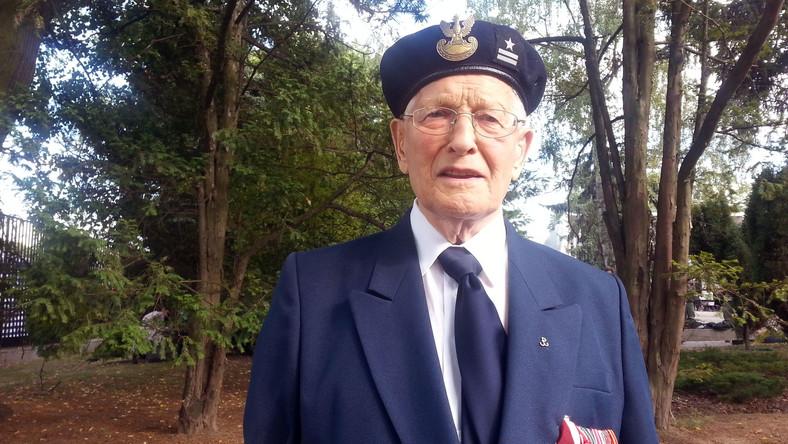 """Major Lech Tryuk, w 1944 roku harcerz i żołnierz AK Zgrupowania """"Róg"""""""