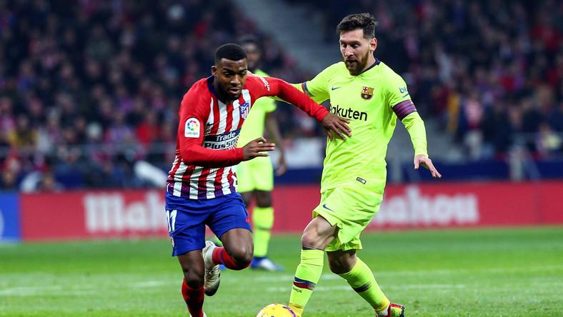 Thomas Lemar i Leo Messi