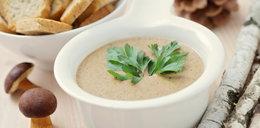 Jesienna zupa krem z borowików