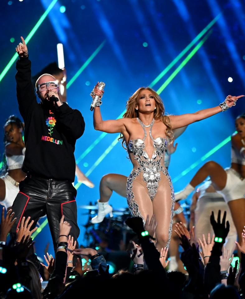 Super Bowl 2020: Jennifer Lopez i J Balvin