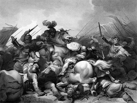 Bitka kod Bosvorta 22. avgusta 1485. označila je kraj Rata ruža