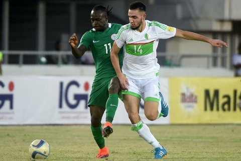 Nigeria beat Algeria 3-1 in November 2016 and forced a 1-1 draw a few months later in the return leg.