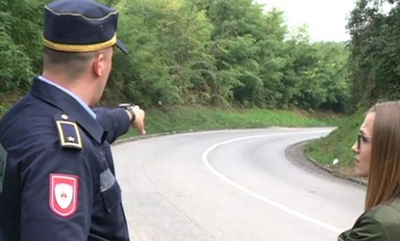 Kobna krivina na putu Banjaluka-Prnjavor