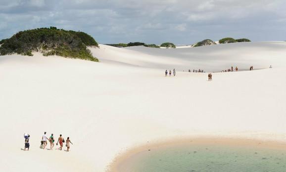 Nacionalni park Lenkois u Brazilu