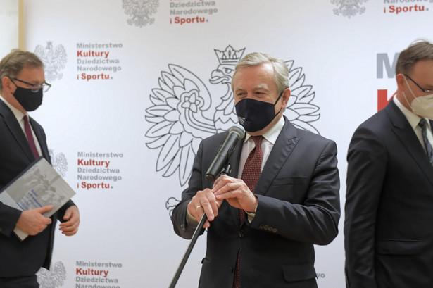 Dla dobra polskiej kultury kolekcja dzikowska, czyli Tarnowskich z Dzikowa wróciła do domu – mówił Gliński
