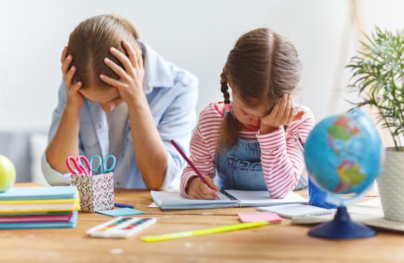 Deca jako često imaju psihičke probleme zbog velikog pritiska roditelja
