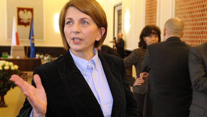 Julia Pitera chce  prześwietlić portfele prezydenta, premiera i szefów specsłużb