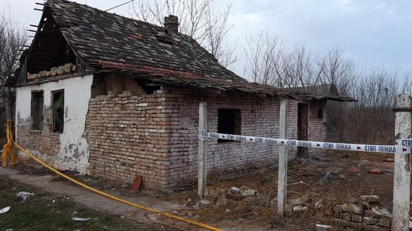 Kuća u kojoj je ubijena žena
