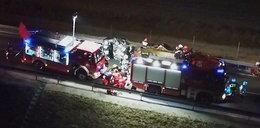 Tragiczny wypadek na obwodnicy Nysy. Zginęło 5 osób, w tym dziecko