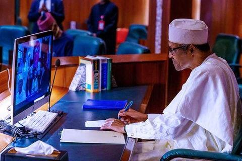 President Muhammadu Buhari participates in virtual ECOWAS 58th Ordinary Session (TV360)